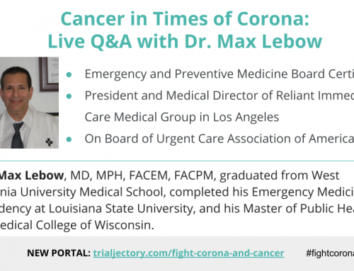 Cancer in Times of Corona: Watch Q&A with Leading Emergency Medicine Doctor