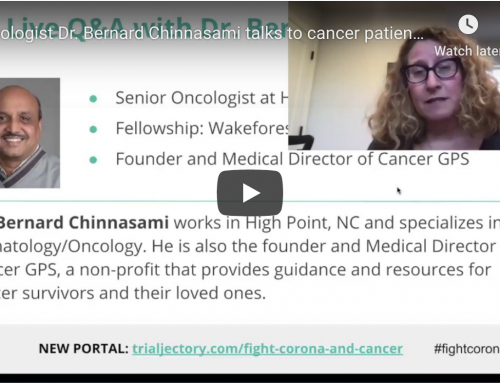 Watch Oncologist talk to cancer patients about advocating for themselves during the Coronavirus Outbreak