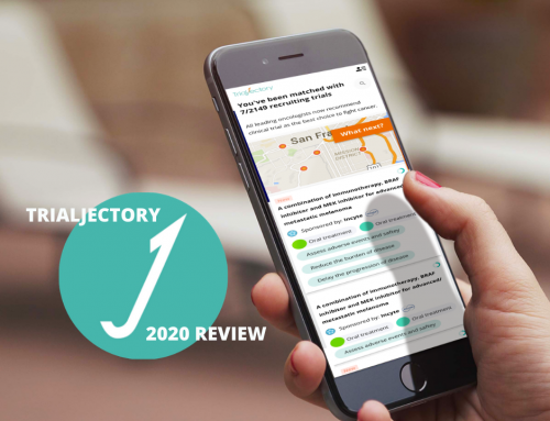 TrialJectory 2020 Review:  A Big Step Towards Cancer Patient Empowerment